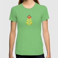 Betty's Garden Womens Fitted Tee Grass SMALL