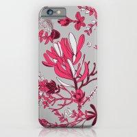 Fuchsia Cradle Flora iPhone 6 Slim Case
