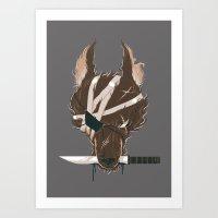 Dogfight Art Print
