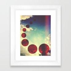 Travel the Skies Framed Art Print