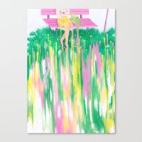Standstill Canvas Print