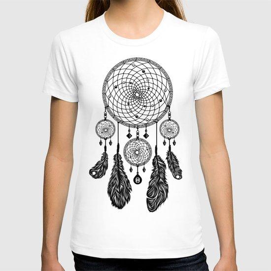 Dreamcatcher (Black & White) T-shirt