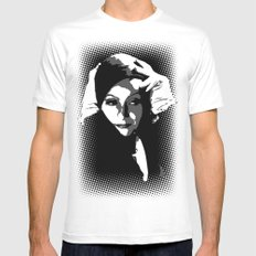 Greta SMALL Mens Fitted Tee White