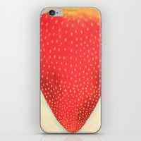 Strawberry iPhone & iPod Skin