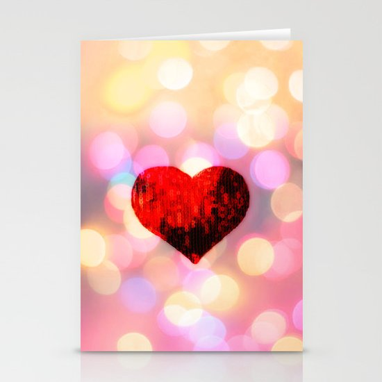 HEART Stationery Card