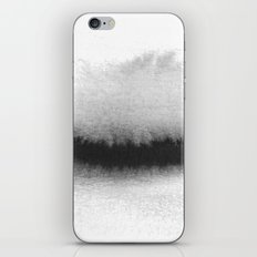 Black and White Horizon iPhone & iPod Skin