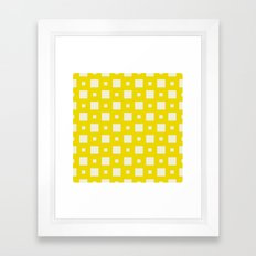 Nassau Yellow Framed Art Print