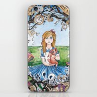 Just Ask Alice ..... iPhone & iPod Skin