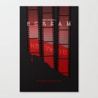 SCREAM 3 (Alternative Movie Poster) Canvas Print
