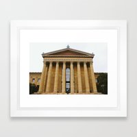 Art Museum Framed Art Print