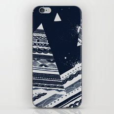 Pattern Doodle Two (Invert) iPhone & iPod Skin