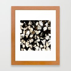 Casual Wood Framed Art Print