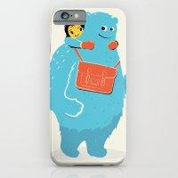 Blue-Monster Piggy-Ride iPhone 6 Slim Case