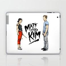 Matt and Kim Laptop & iPad Skin