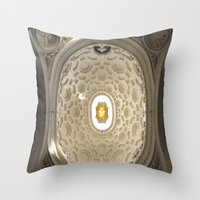 Bernini's San Carlino Throw Pillow