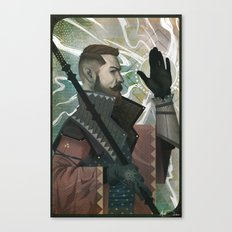 The Inquisitor  Canvas Print