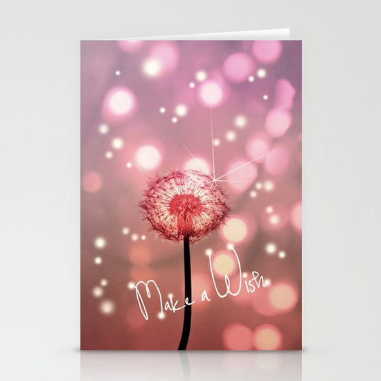 MAKE A WISH Stationery Card