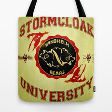Stormcloak University(Skyrim) Tote Bag