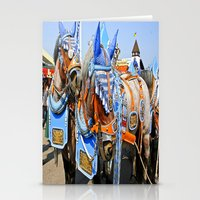 Haufbraugh Horses Stationery Cards