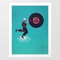 Copy Ninja's Kamui Art Print