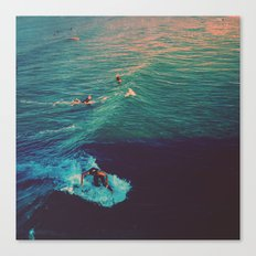 Ride the Wave Canvas Print