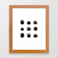 stoneheads 003 Framed Art Print