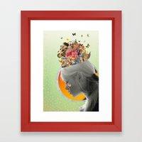 Inside of Me Framed Art Print