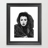 Meghan Ory Little Red Ri… Framed Art Print