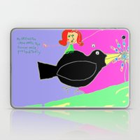 Wimsy And The Crow Laptop & iPad Skin