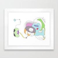 Funland 2 Framed Art Print