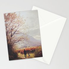 On the path Stationery Cards