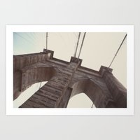 brooklyn bound:: nyc Art Print