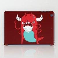 Monster Nagging iPad Case
