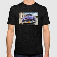 Purple Chevy Mens Fitted Tee Tri-Black SMALL
