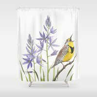 Morning in the Meadow Shower Curtain