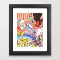 Vanity Dream Framed Art Print