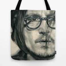 Secret Window Traditional Portrait Print Tote Bag