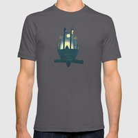 Totoro ' s Dream  Mens Fitted Tee Asphalt SMALL