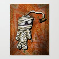 Bobby Mummy Canvas Print