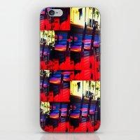 Barstools iPhone & iPod Skin
