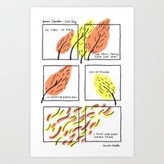 DENISE LEVERTOV - LOVE SONG Art Print