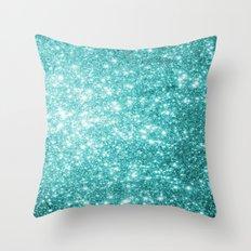 Mint Dream Throw Pillow