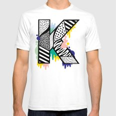 K for ... Mens Fitted Tee White SMALL