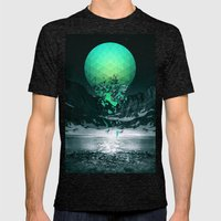 Fall To Pieces Mens Fitted Tee Tri-Black SMALL