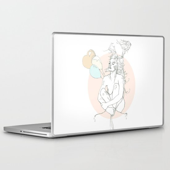 milk toast Laptop & iPad Skin