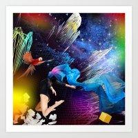 Ketamine Sky Art Print