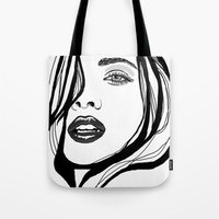 That Girl Tote Bag