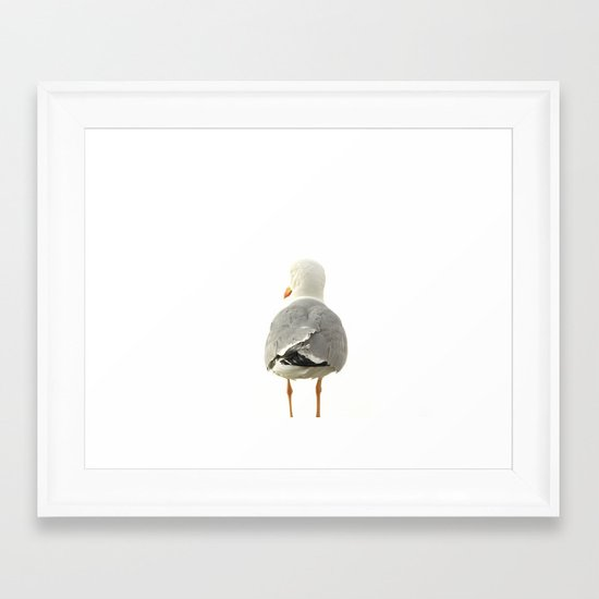 THE PIGEON Framed Art Print