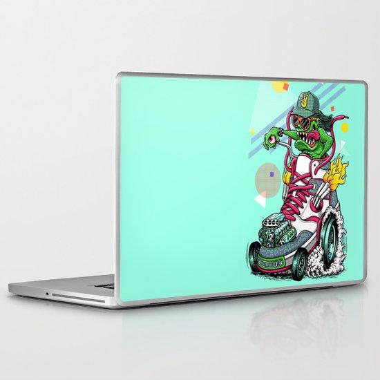 RIDE IT, KICK IT! Laptop & iPad Skin