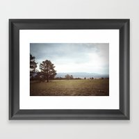 set free::buena vista, co Framed Art Print